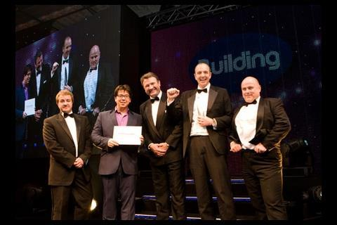 Contractor of the Year (less than £300m turnover): Lakehouse